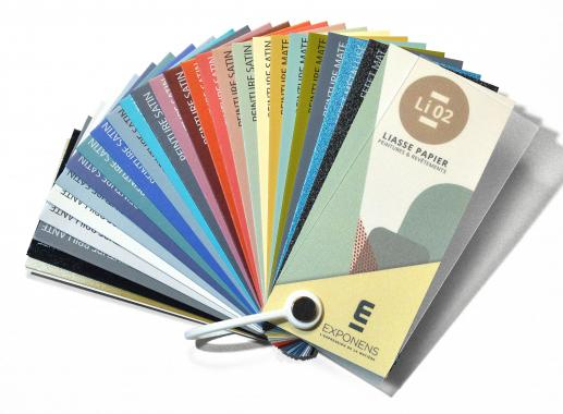 FAN DECKS FOR PAINTS AND COATINGS